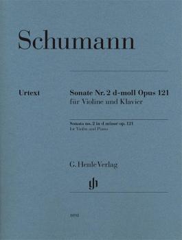 Robert Schumann - Violin Sonata No. 2 in D minor, Op. 121 (With Marked (HL-51481098)