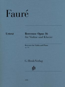Berceuse, Op. 16: Violin and Piano with marked and unmarked string par (HL-51481101)