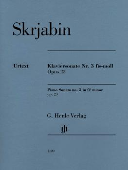 Piano Sonata No. 3 in F-sharp minor, Op. 23 (HL-51481109)