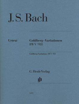 Goldberg Variations BWV 988: Edition without fingering (HL-51481159)