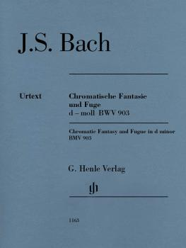 Chromatic Fantasy and Fugue in D Minor BWV 903 and 903a: Edition witho (HL-51481163)