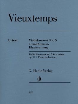 Violin Concerto No. 5 in A minor, Op. 37: Violin with Piano Reduction (HL-51481257)
