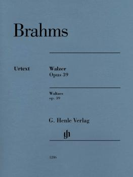 Waltzes Op. 39: Piano Solo - Revised Edition (HL-51481286)