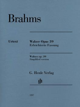 Waltzes Op. 39: Simplified Arrangement by Brahms (HL-51481287)