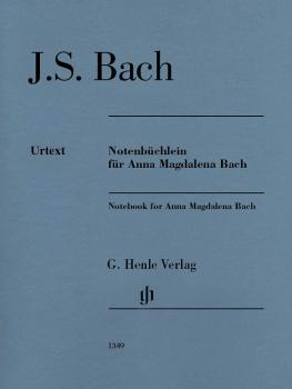 Notebook for Anna Magdalena Bach: Edition without fingering (HL-51481349)
