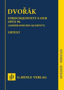String Quartet in F Major Op. 96 (American Quartet) (Study Score) (HL-51487232)
