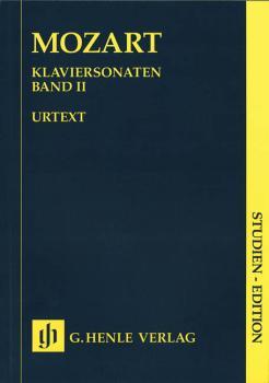 Piano Sonatas - Volume II: Piano Solo Study Score (HL-51489002)