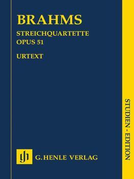String Quartets, Op. 51 No. 1 in C minor & No. 2 in A minor (Study Sco (HL-51489040)