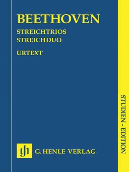 String Trios Op. 3, 8, and 9 and String Duo WoO 32 (Study Score) (HL-51489192)