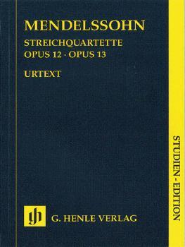 String Quartets Op. 12 and 13 (Study Score) (HL-51489270)