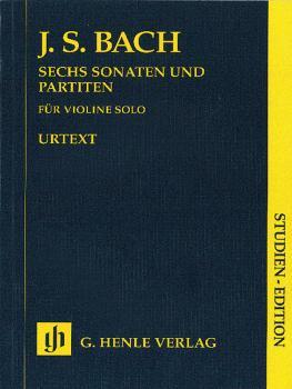Sonatas and Partitas BWV 1001-1006: Violin Solo Study Score (HL-51489356)