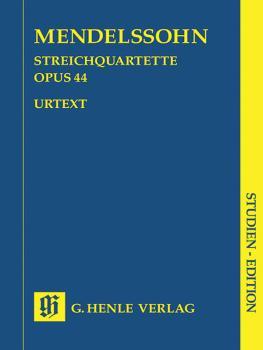String Quartets Op. 44, No. 1-3 (Study Score) (HL-51489443)