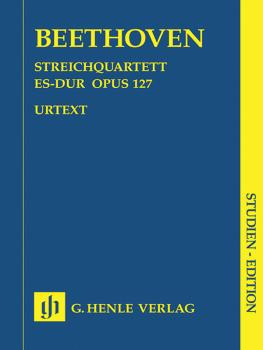 String Quartet E Flat Major Op. 127 (Study Score) (HL-51489740)