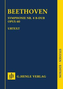 Symphony No. 4 in B-flat Major, Op. 60 (Study Score) (HL-51489811)