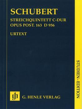 String Quintet C Major Op. Posth. 163 D 956 (Study Score) (HL-51489812)