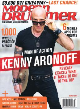 Modern Drummer Magazine March 2017 (HL-77772498)