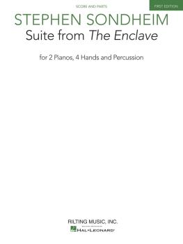 Suite from The Enclave (for 2 Pianos, 4 Hands and Percussion) (HL-00153845)