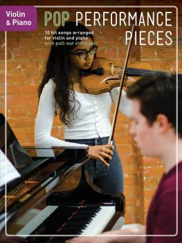 Pop Performance Pieces: 10 Hit Songs for Violin and Piano (HL-14048348)