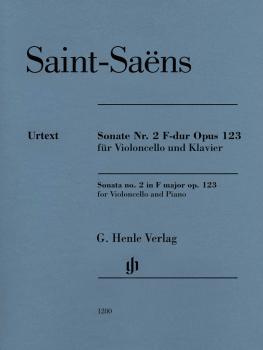 Sonata for Violoncello and Piano No. 2 in F Major, Op. 123 (HL-51481280)