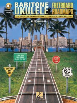 Fretboard Roadmaps - Baritone Ukulele: The Essential Patterns That All (HL-00198246)