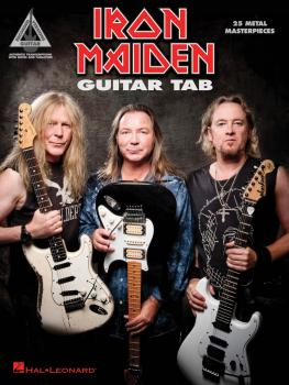 Iron Maiden - Guitar Tab: 25 Metal Masterpieces (HL-00200446)