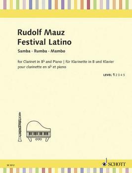 Festival Latino - Samba, Rumba, Mambo: Schott Student Edition Repertoi (HL-49045502)