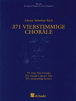 371 Vierstimmige Choräle (Four-Part Chorales): Part 2 in Bb - Treble C (HL-44003554)