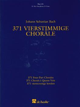 371 Vierstimmige Choräle (Four-Part Chorales): Part 2 in Eb - Treble C (HL-44003555)