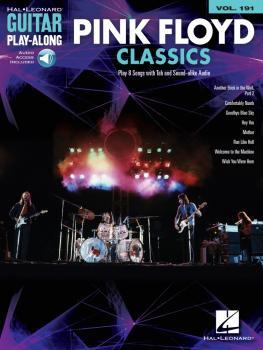 Pink Floyd Classics: Guitar Play-Along Volume 191 (HL-00146164)