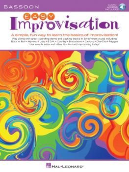 Easy Improvisation (for Bassoon) (HL-00236545)