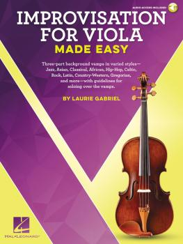 Improvisation for Viola Made Easy (HL-00236558)