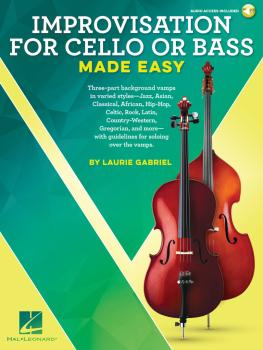 Improvisation for Cello or Bass Made Easy (HL-00236559)