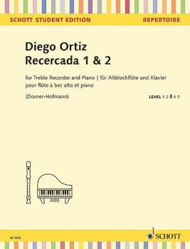 Recercada 1 & 2 (for Treble Recorder and Piano) (HL-49045571)