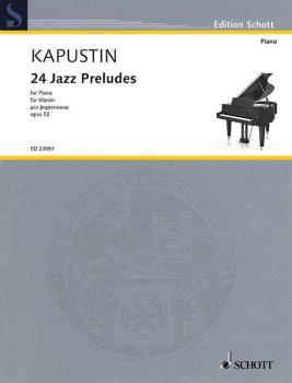 24 Jazz Preludes, Op. 53 (for Piano) (HL-49045497)