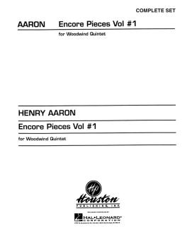 Encore Pieces for Woodwind Quintet - Volume 1 (Complete Set) (HL-00030062)