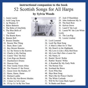 52 Scottish Songs for All Harps: Companion CD to the Songbook (HL-00121123)