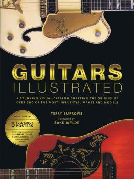 Guitars Illustrated: A Stunning Visual Catalog Charting the Origins of (HL-00127957)