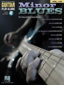 Minor Blues: Guitar Play-Along Volume 135 (HL-00151350)