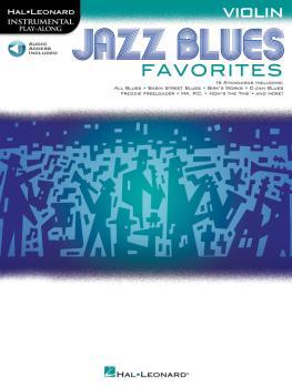 Jazz Blues Favorites (Violin) (HL-00154490)