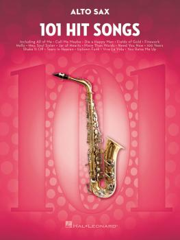 101 Hit Songs (for Alto Sax) (HL-00197183)