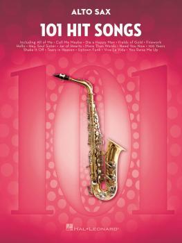 101 Hit Songs (for Alto Sax) (HL-00197183)