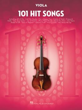 101 Hit Songs (for Viola) (HL-00197189)