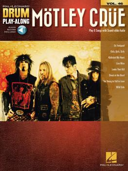 Mötley Crüe: Drum Play-Along Volume 46 (HL-00200892)
