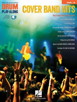 Cover Band Hits: Drum Play-Along Volume 9 (HL-00211599)