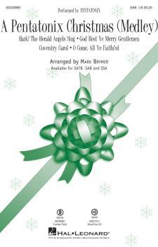 A Pentatonix Christmas (Medley) (HL-00220885)