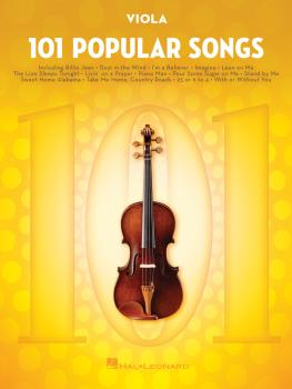 101 Popular Songs (for Viola) (HL-00224730)