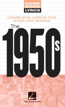 The 1950s (Paperback Lyrics) (HL-00240274)
