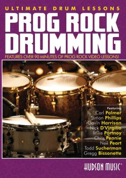 Prog Rock Drumming: Ultimate Drum Lessons Series (HL-00321123)