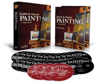 Learn & Master Painting - Homeschool Edition: Book/3-CD/20-DVD Pack (HL-00321129)