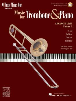 Advanced Trombone Solos, Volume 1 (for Trombone) (HL-00400694)